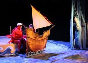 Fest auf dem Schiff des Prinzen